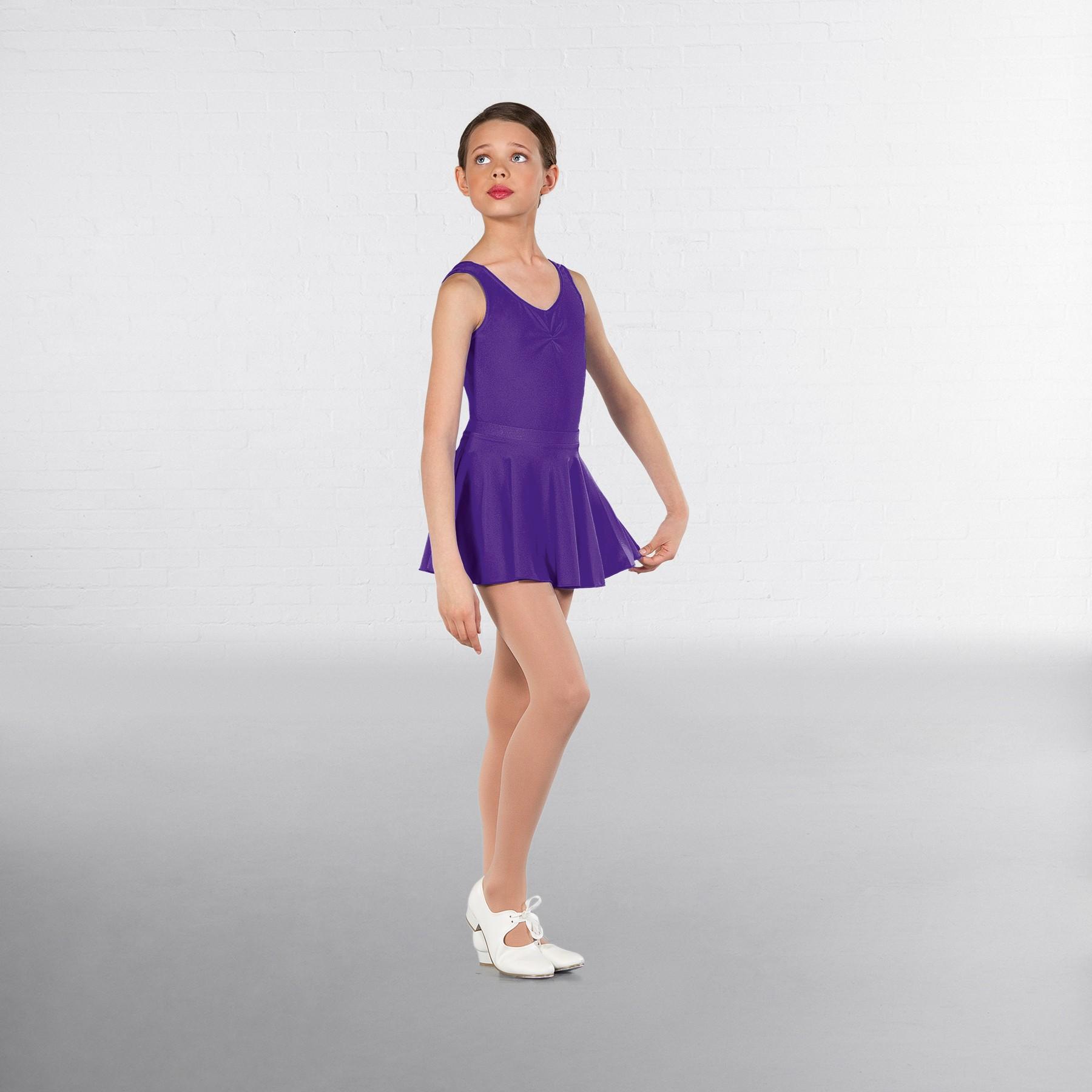 1st Position Circular Skirt (Delphinium)