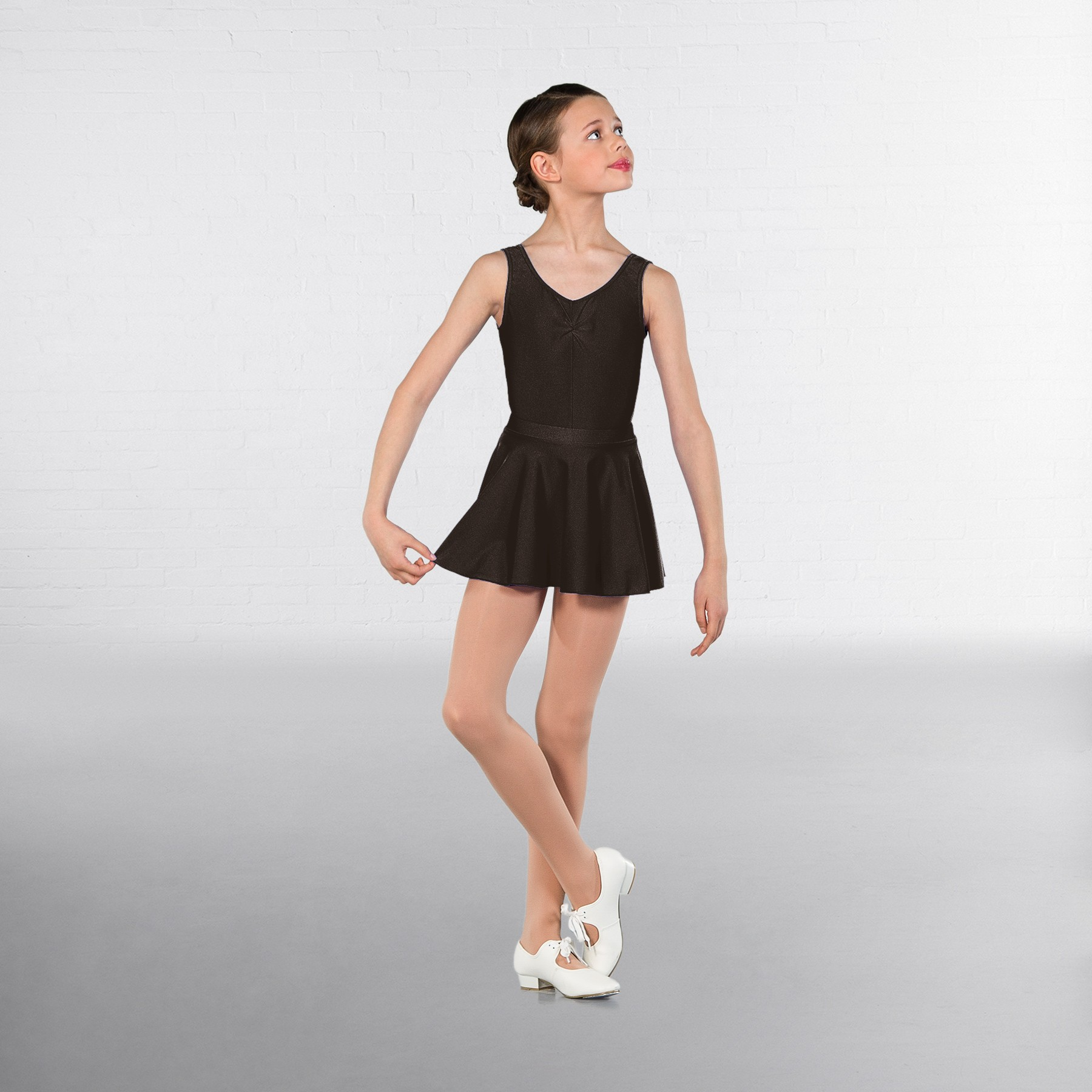 1st Position Circular Skirt (Black)