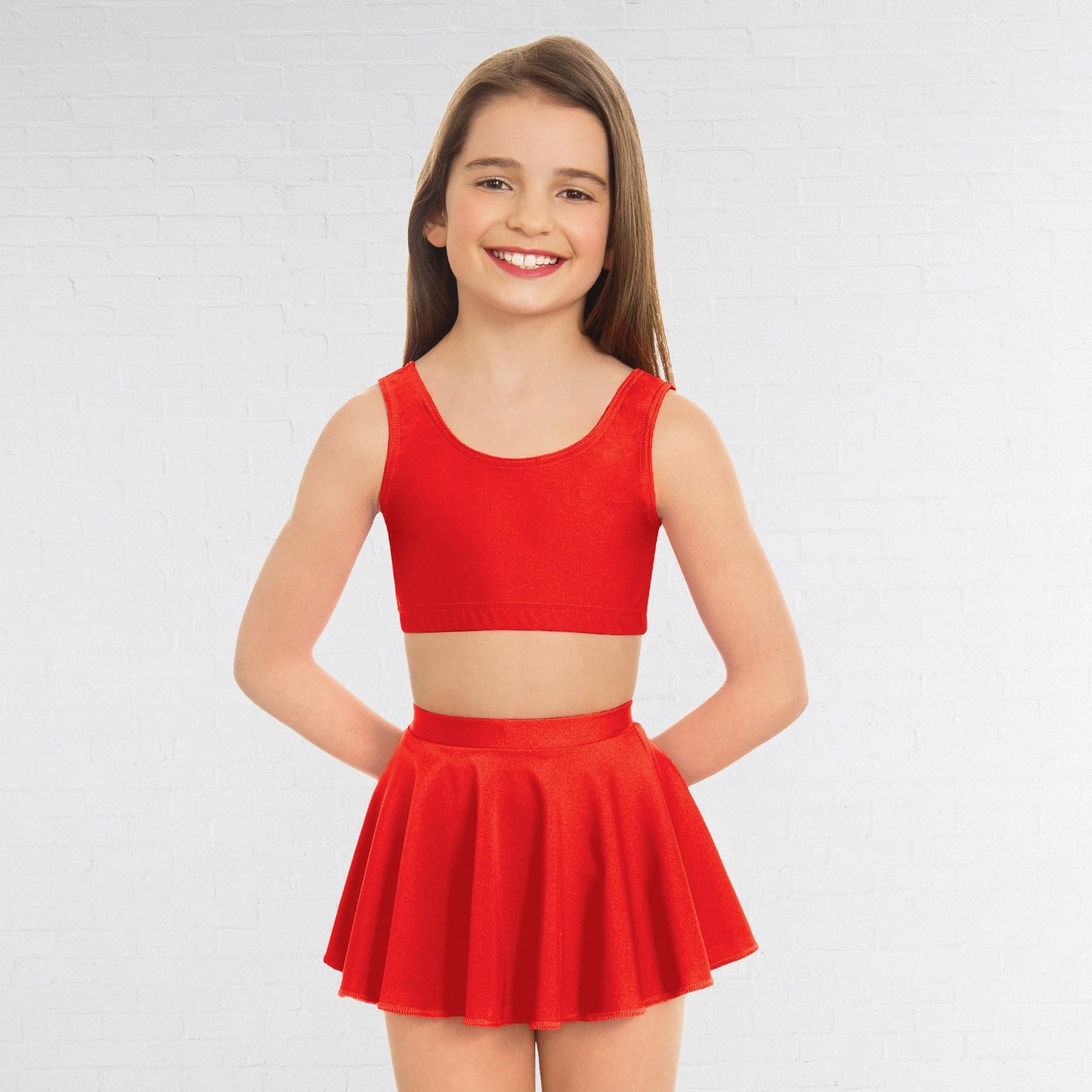 1st Position Circular Skirt (Red)