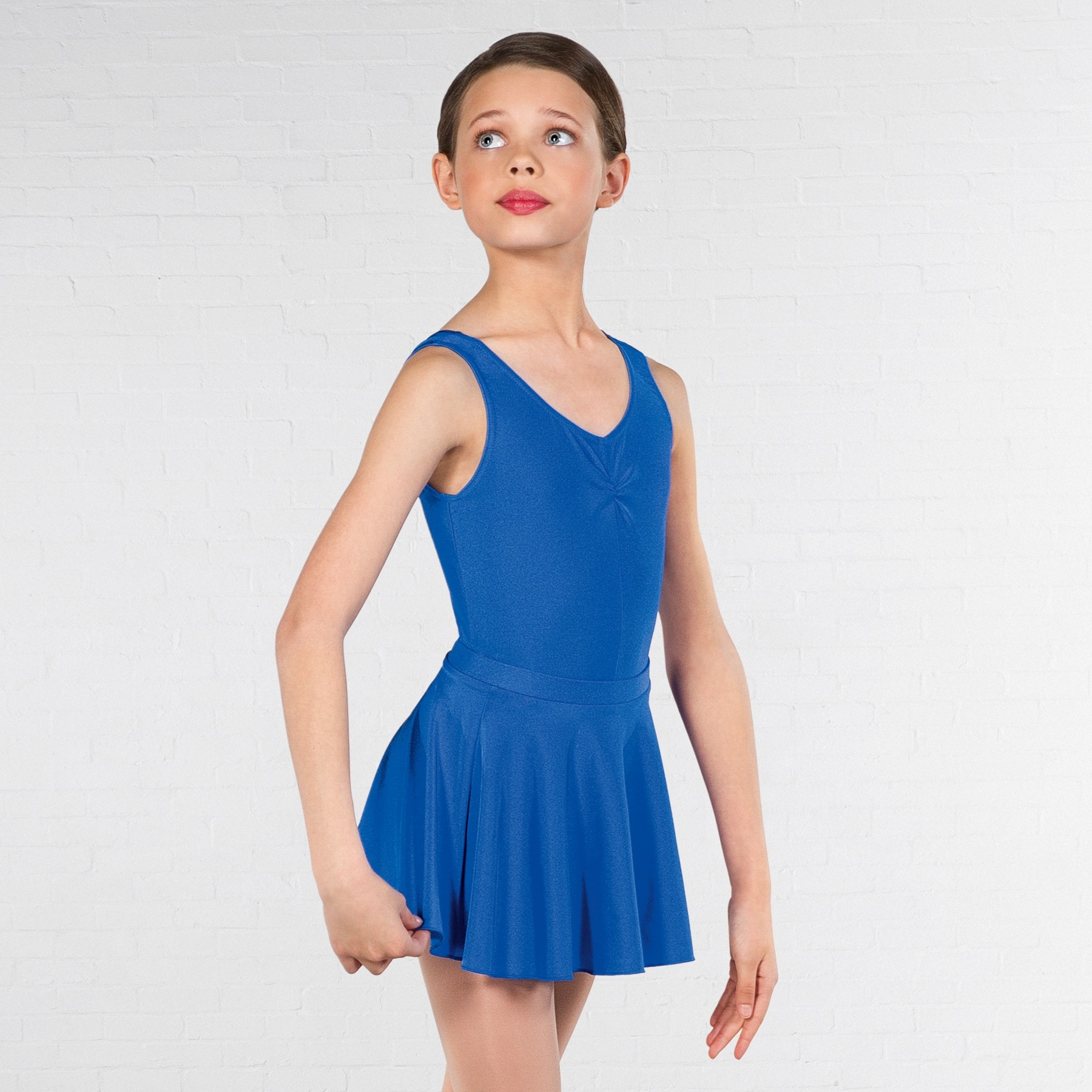 1st Position Circular Skirt (Royal Blue)
