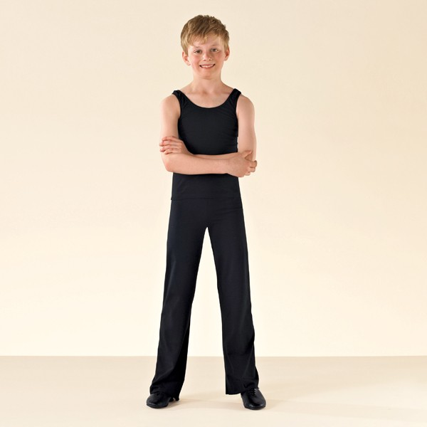 1st Position Jazz Pants Cotton (Black)