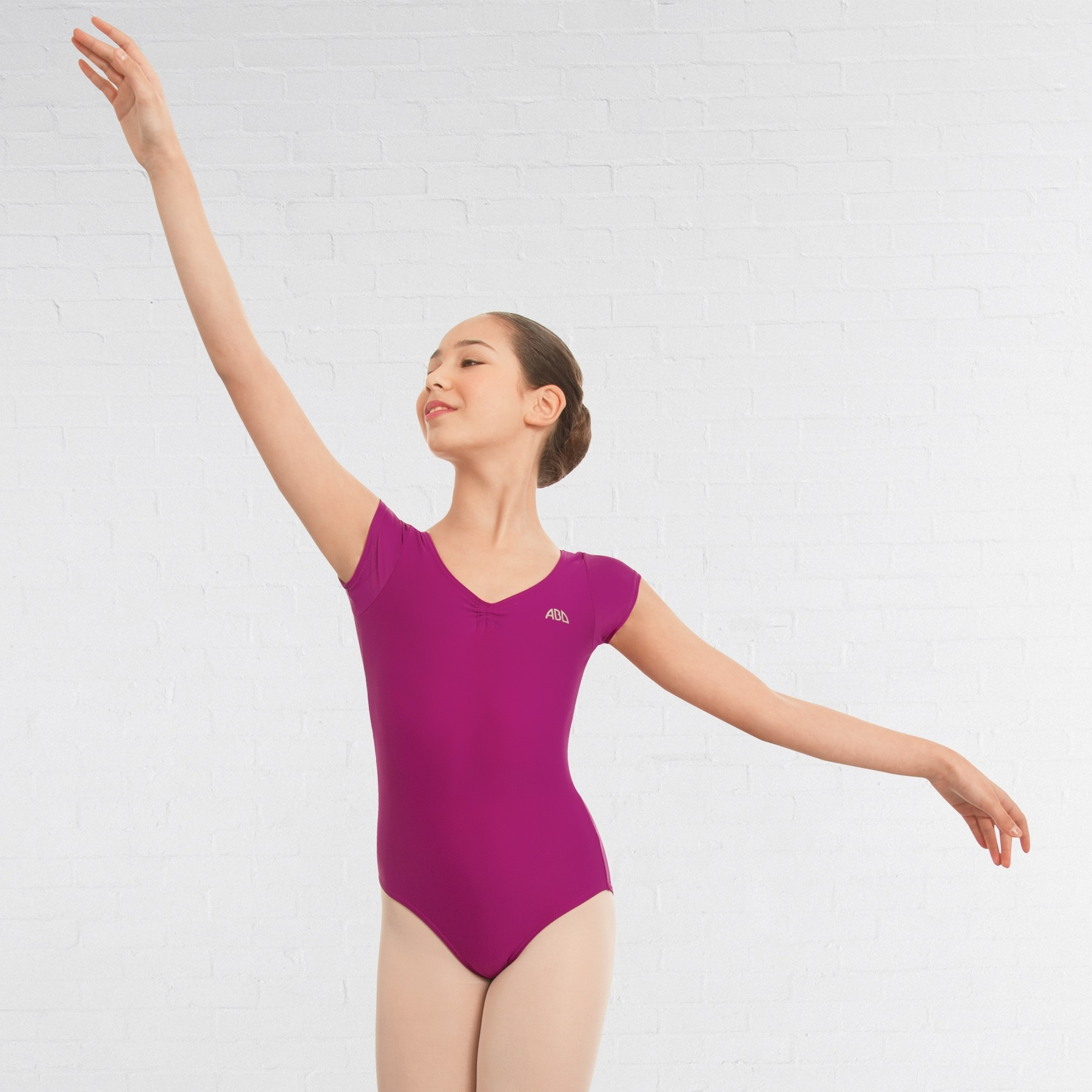 ABD Ballet Grade 1 to 4 Cap Sleeved Leotard