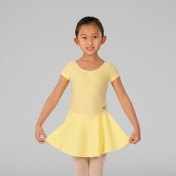 ABT Molly Primary A/B/C Skirted Leotard (Lemon)