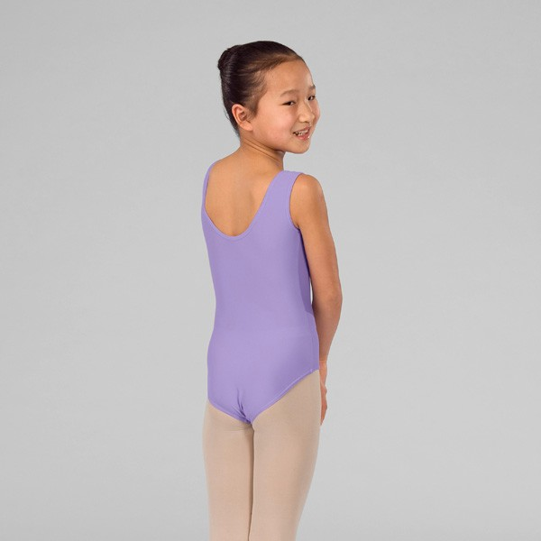ABT Rebecca Levels 1/2/3 Sleeveless Lined Front Leotard (Lilac)