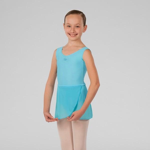 ABT Levels 1/2/3 Wrap Skirt (Aqua)