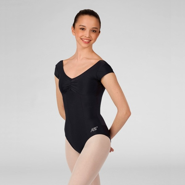 ABT Jenna Levels 4/5/6/7 Cap Sleeved Leotard (Black)