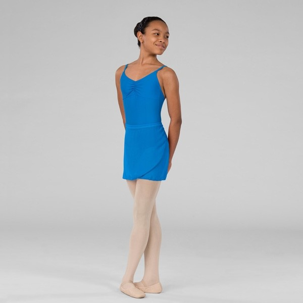 ABT Levels 4/5/6/7 Adults Wrap Skirt (China Blue)