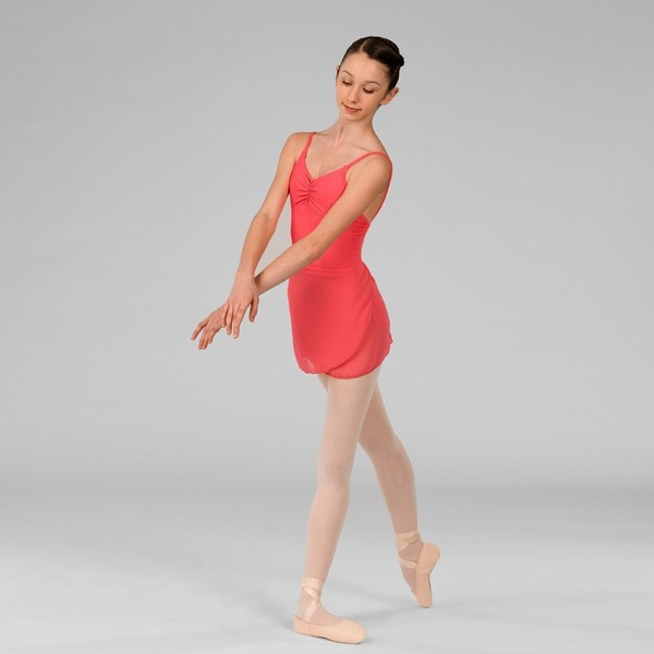 ABT Levels 4/5/6/7 Adults Wrap Skirt (Coral)