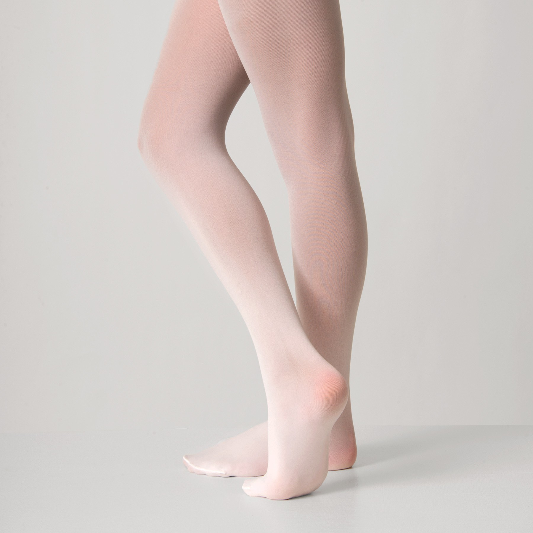 Silky Ballet Full Foot Tights (White)