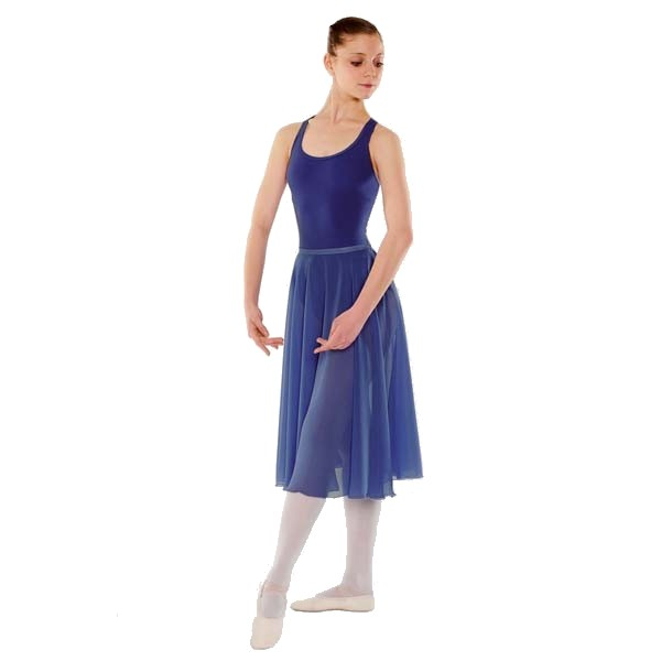 Little Ballerina RAD Approved Circular Poly Chiffon Skirt (Royal Blue)