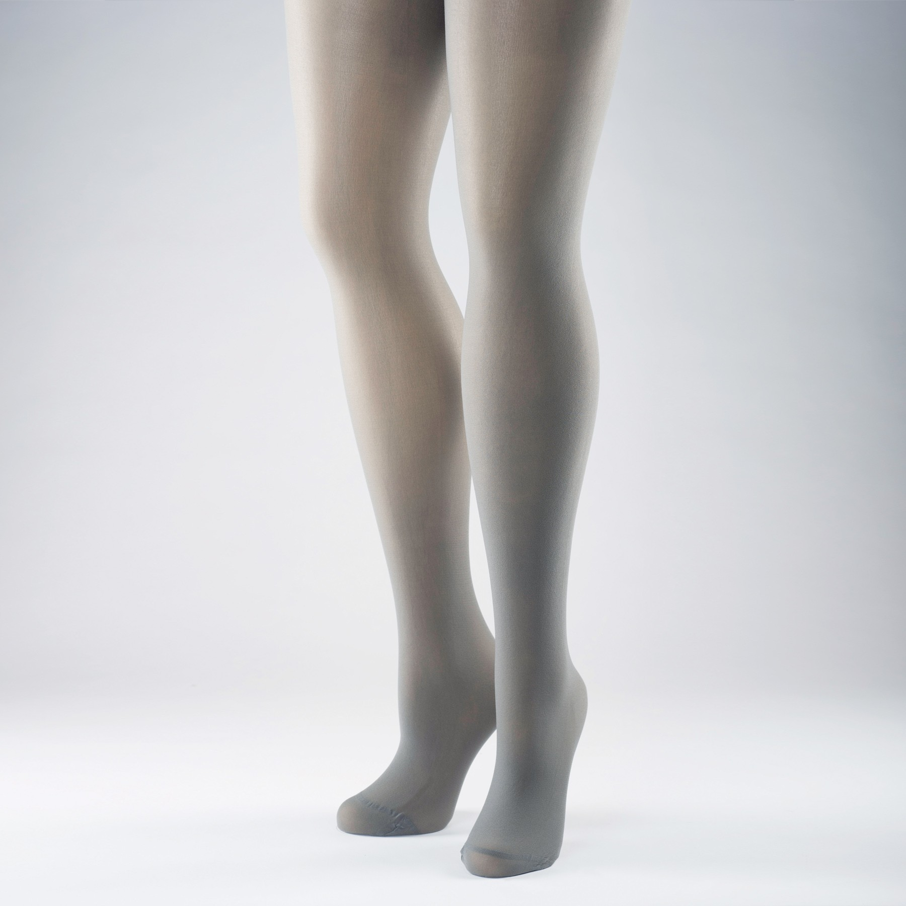 Silky 40 Denier Opaque Tights (Grey)