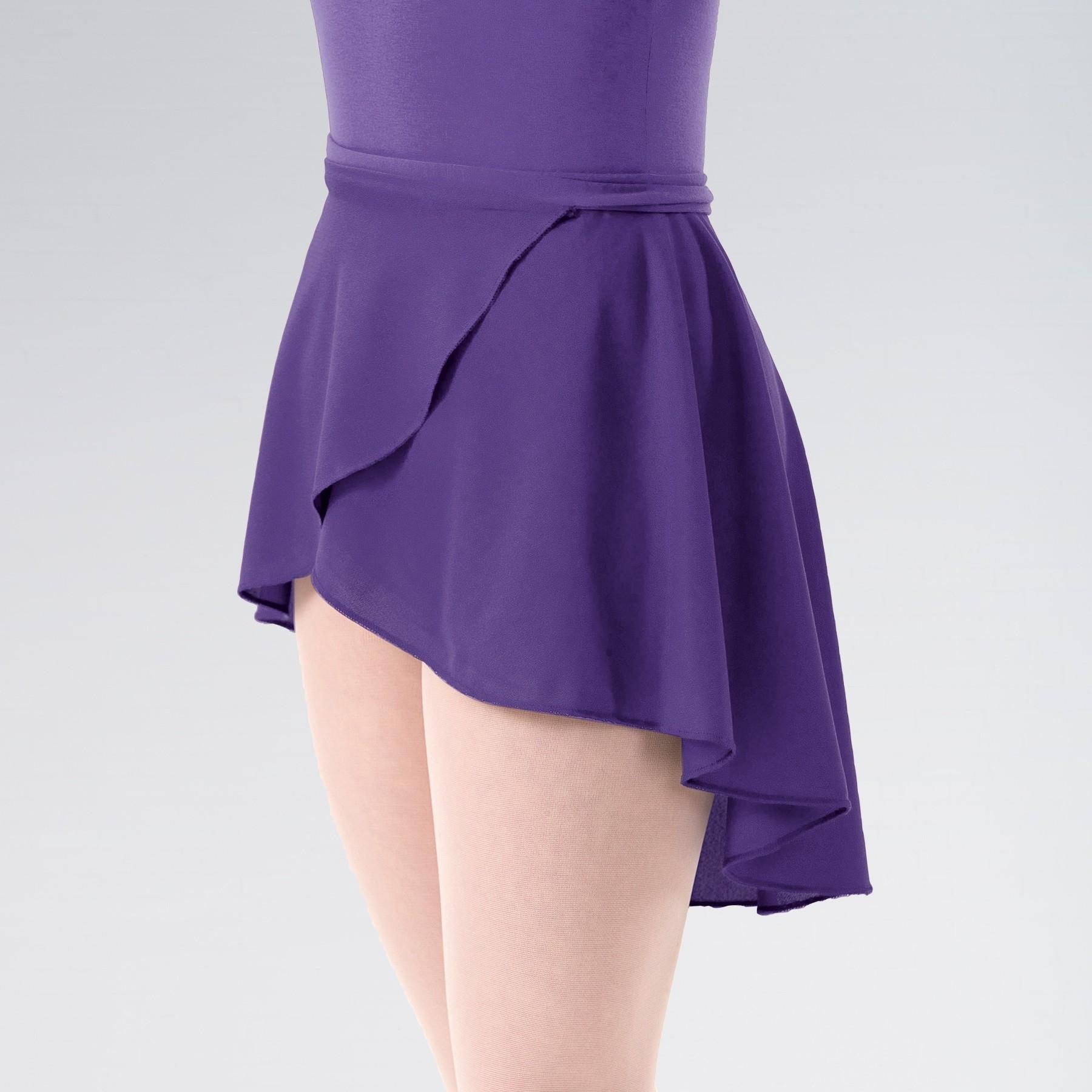 Adagio ISTD Wrapover Skirt (Purple)