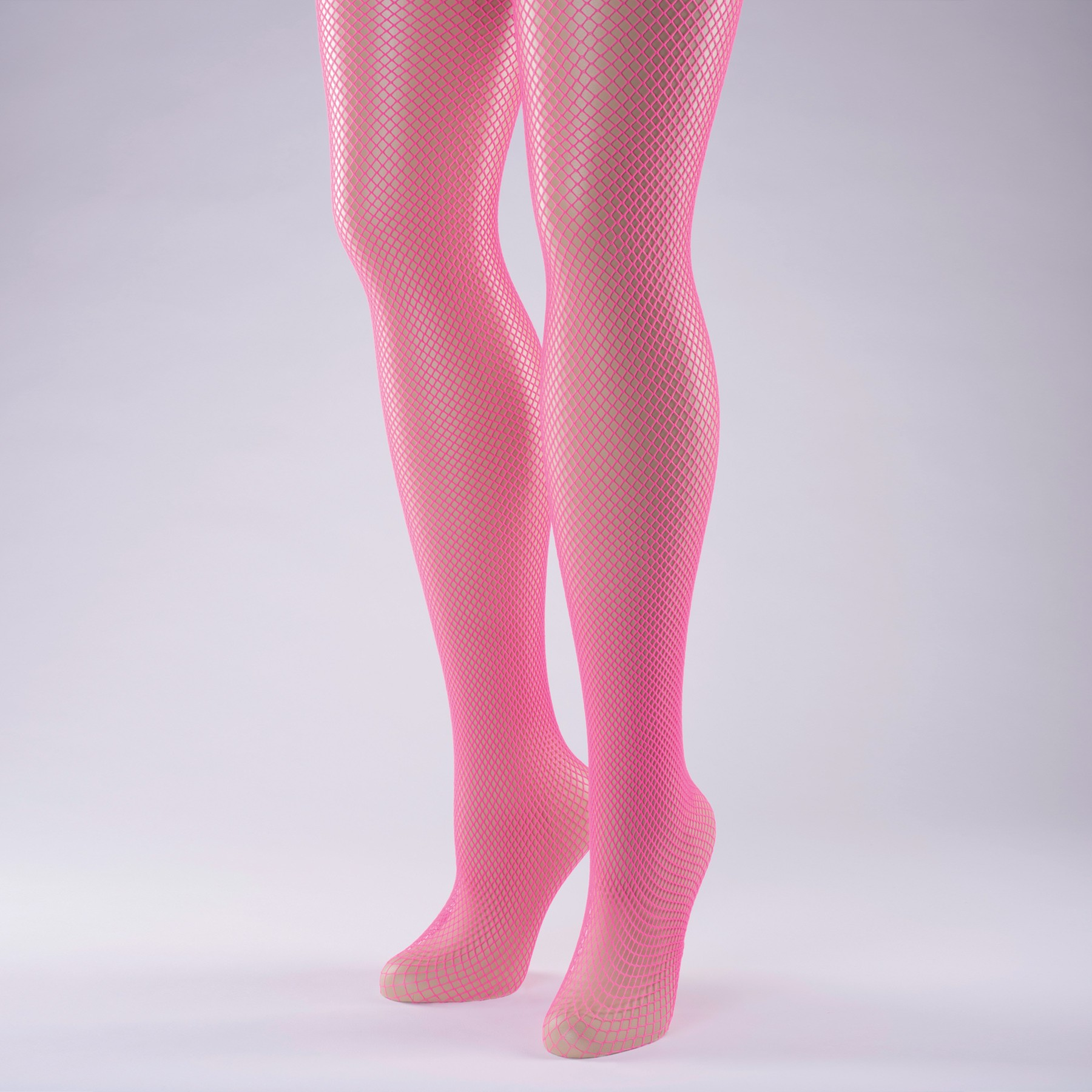 Fishnet Tights Adult One Size Flo Pink