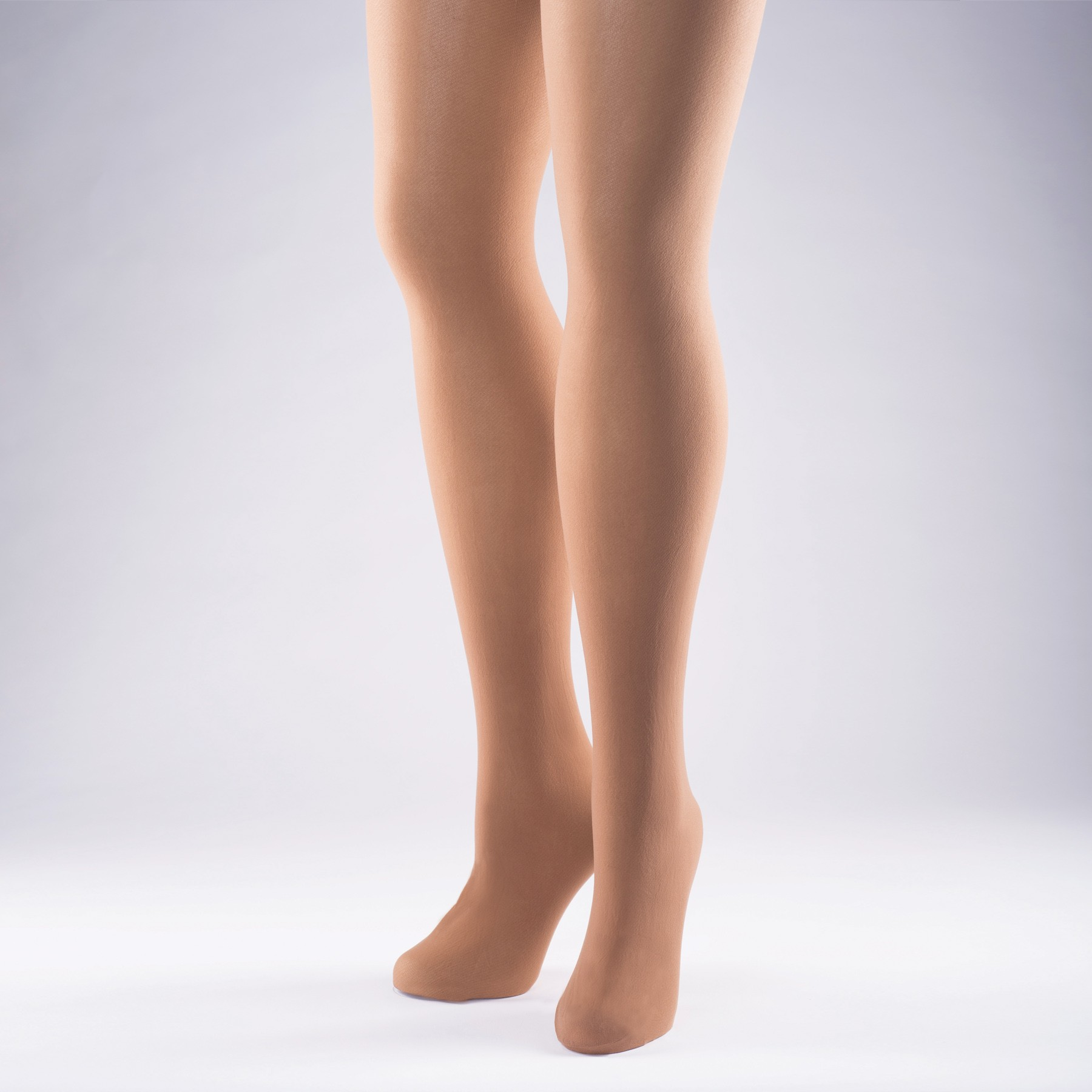 Economy American Tan Tights - Adult One Size