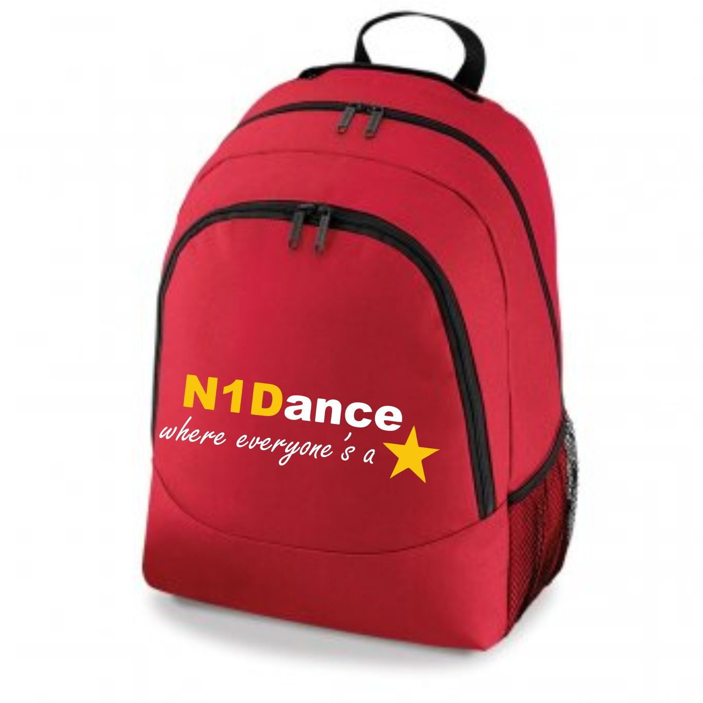 PP *#041034#* Backpack Classic Red with N1 Dance Logo