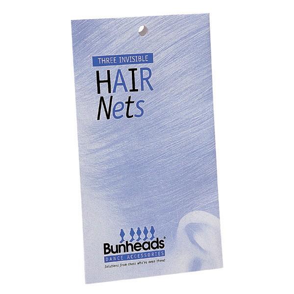 Bunheads Haarnetze - Mittelbraun