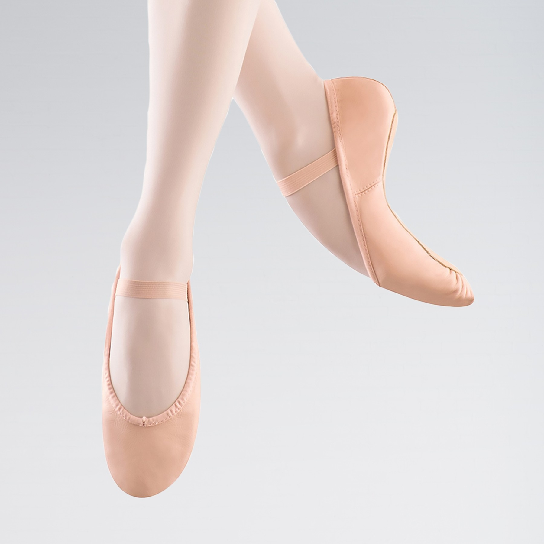 Bloch Dansoft Leather Ballet Shoe (Pink)