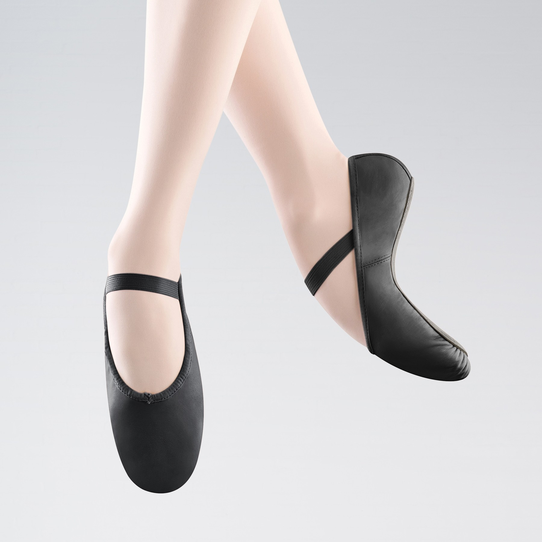 Bloch Arise Full Sole Leather Ballet Shoe (Black)