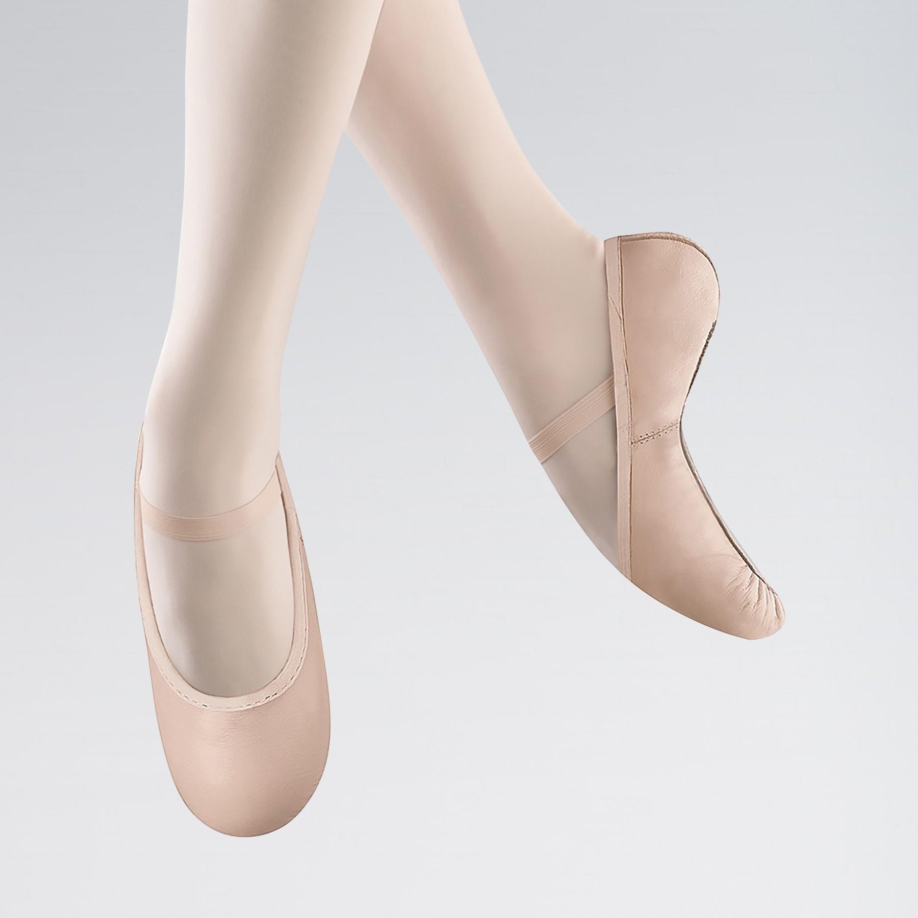 Bloch Belle Full Sole Leather Ballet Shoe (Pink)