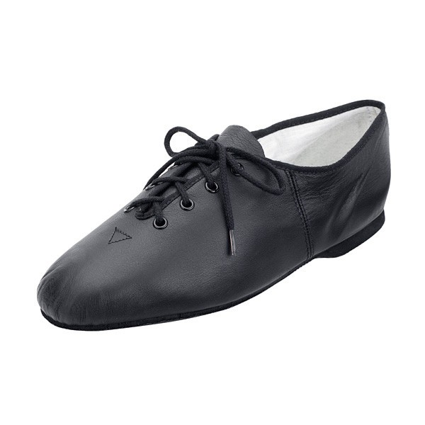 Bloch Essential Full Sole Lace Up Jazz Shoe Black