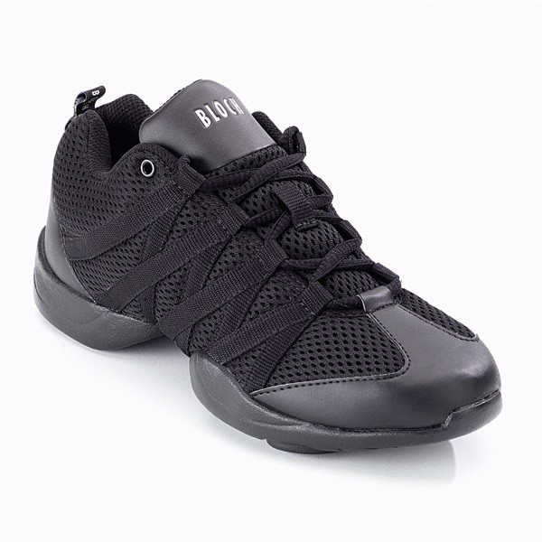 Bloch Criss Cross Mesh Sneakers (Black)