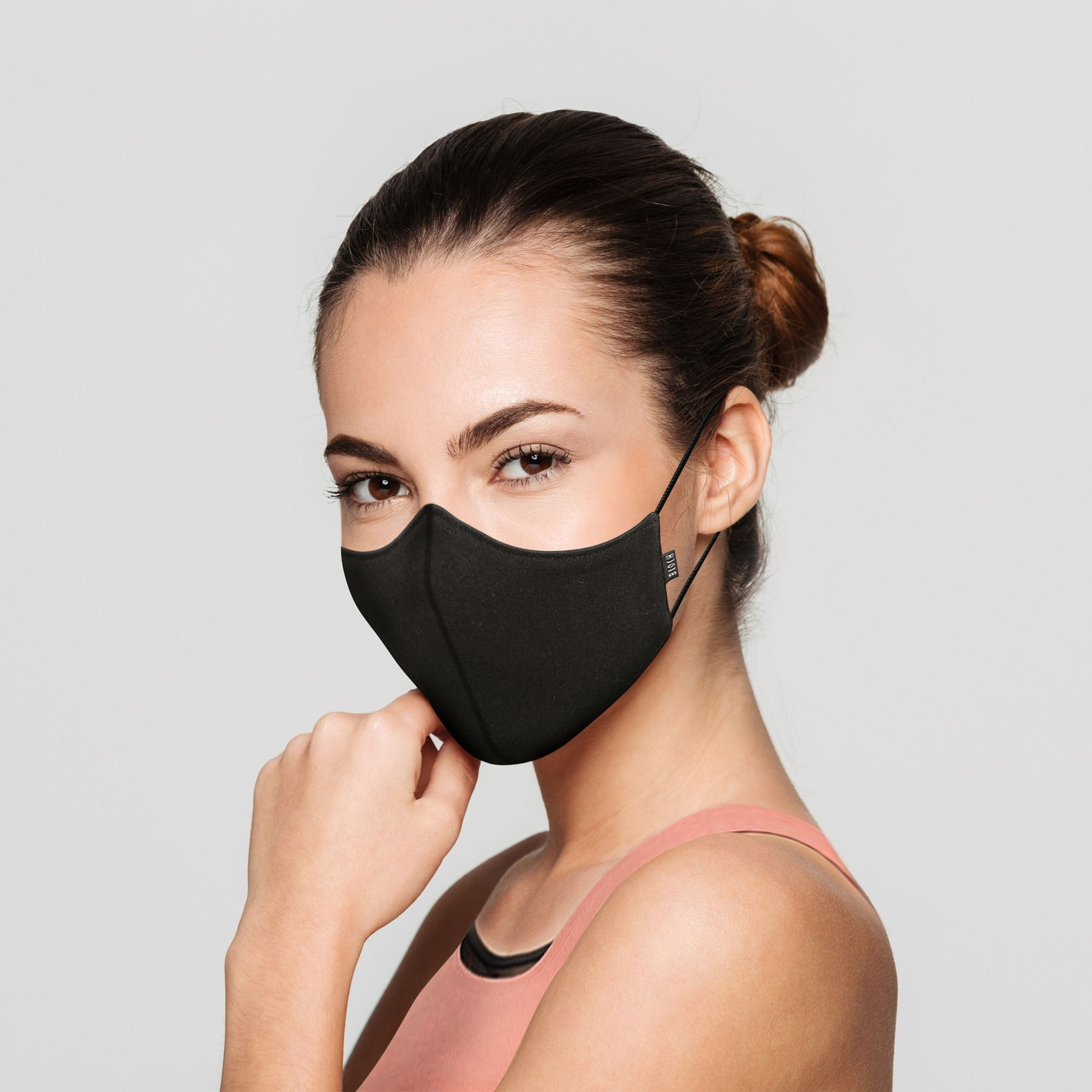 Bloch B-Safe Adult Face Mask 3 Pack Black
