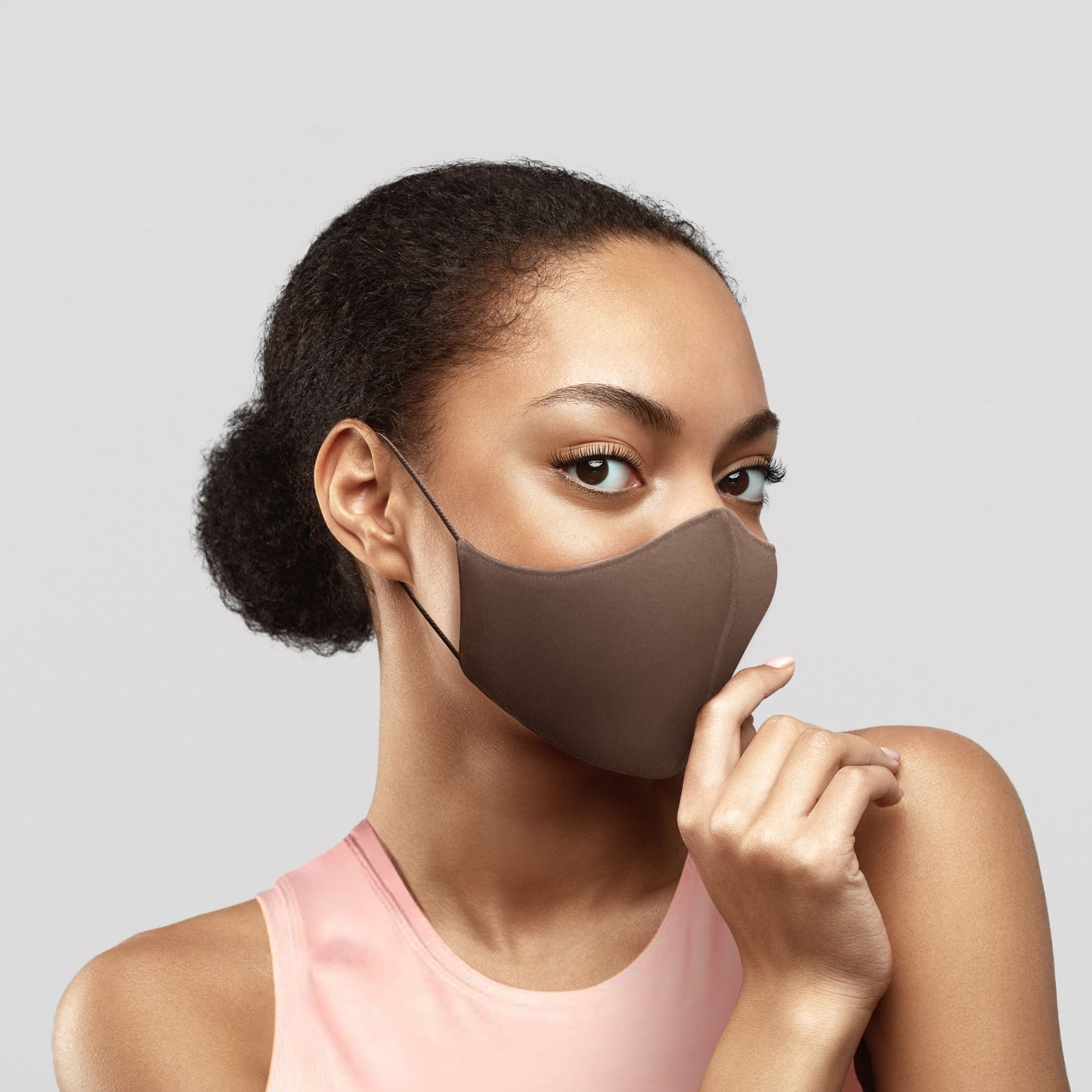 Bloch B-Safe Adult Face Mask 3 Pack Cocoa