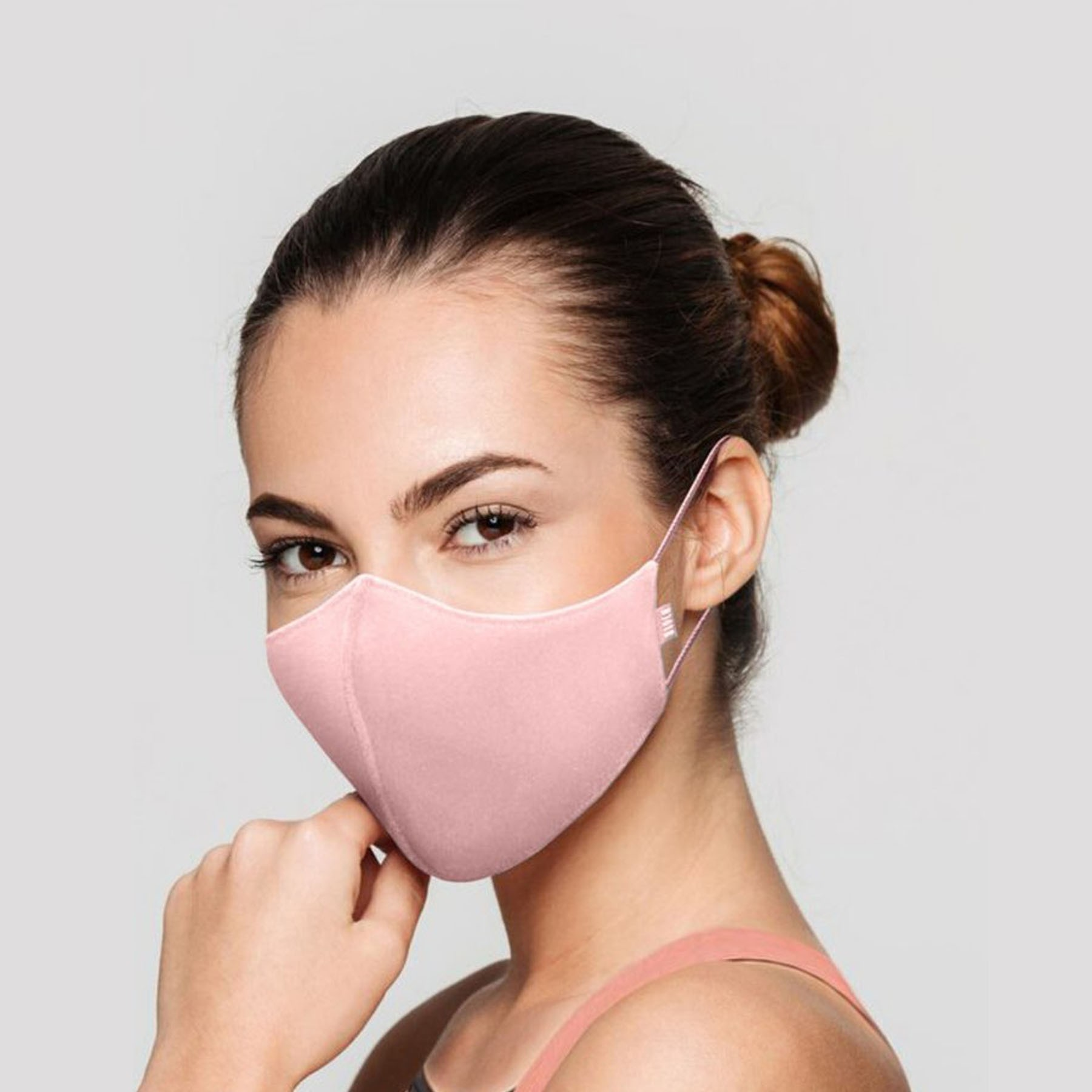 Bloch B-Safe Adult Face Mask 3 Pack Light Pink