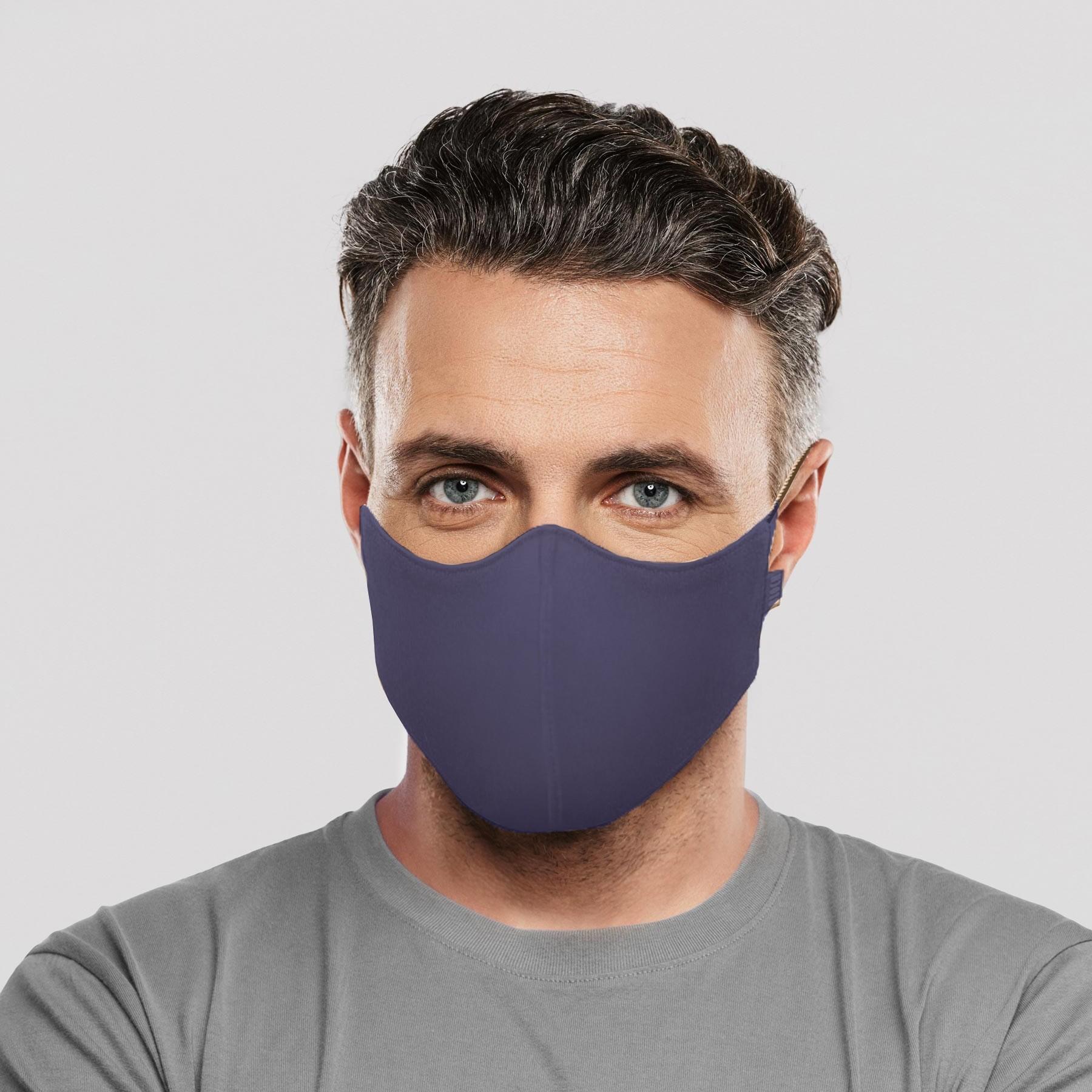 Bloch B-Safe Adult Face Mask 3 Pack Navy