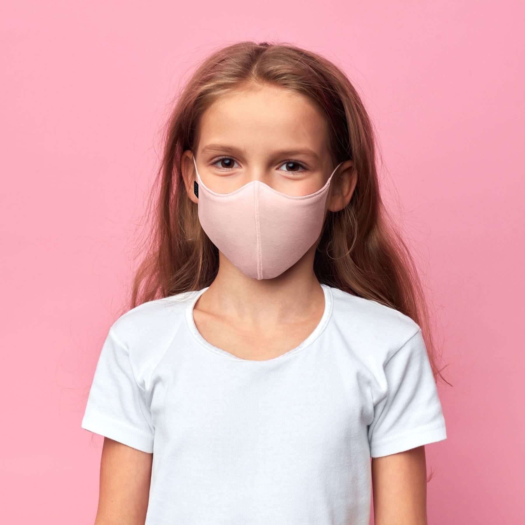 Bloch B-Safe Childs Face Mask 3 Pack Light Pink