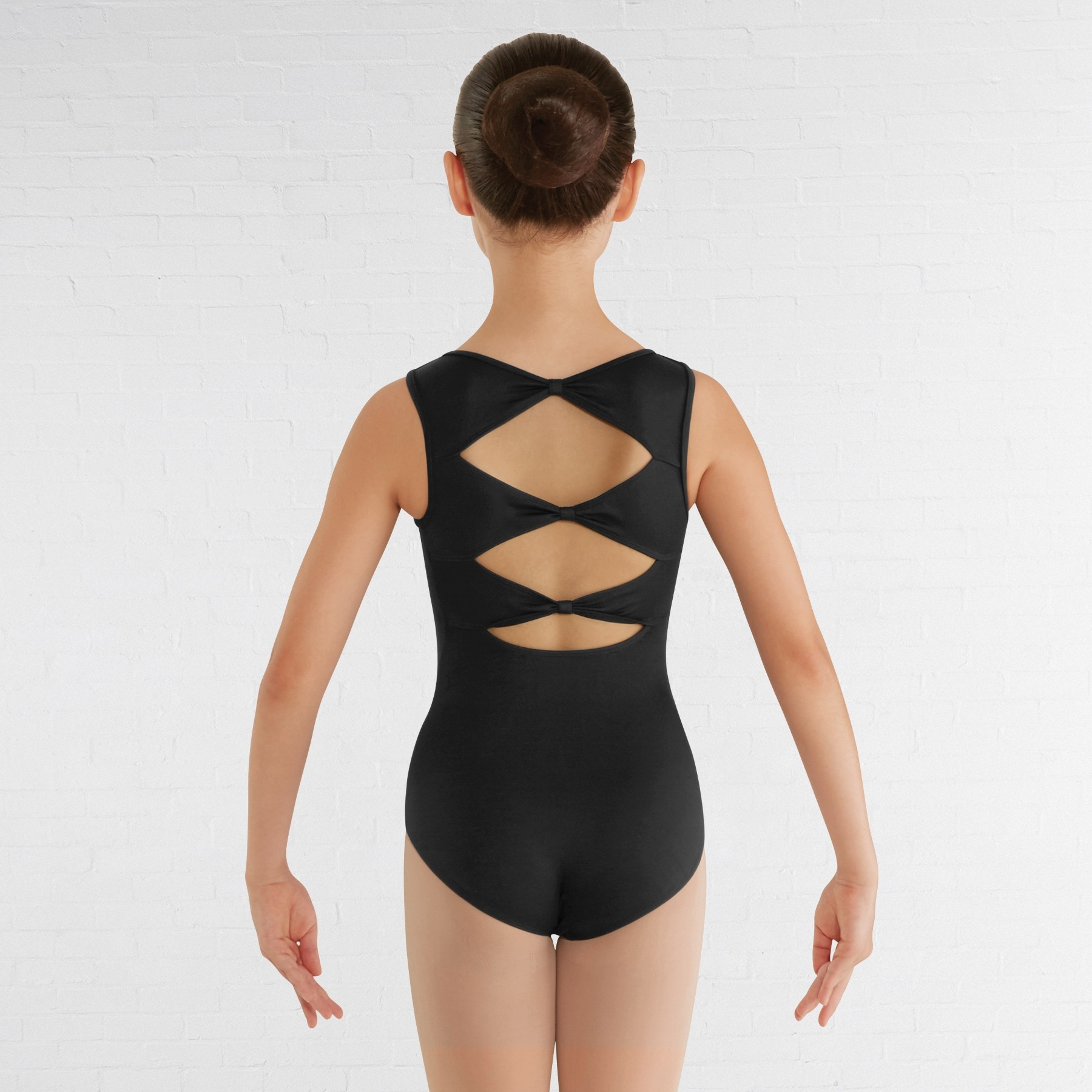 Bloch Childrens Gladiolus Leotard (Black)