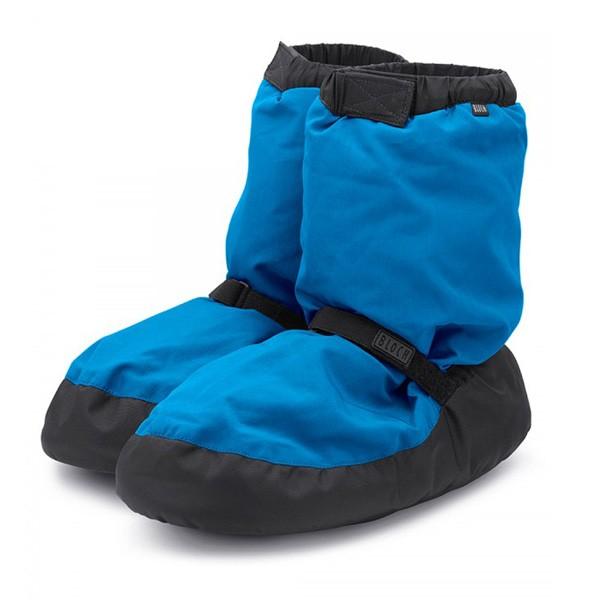 Bloch Warm-Up Booties (Fluorescent Blue)