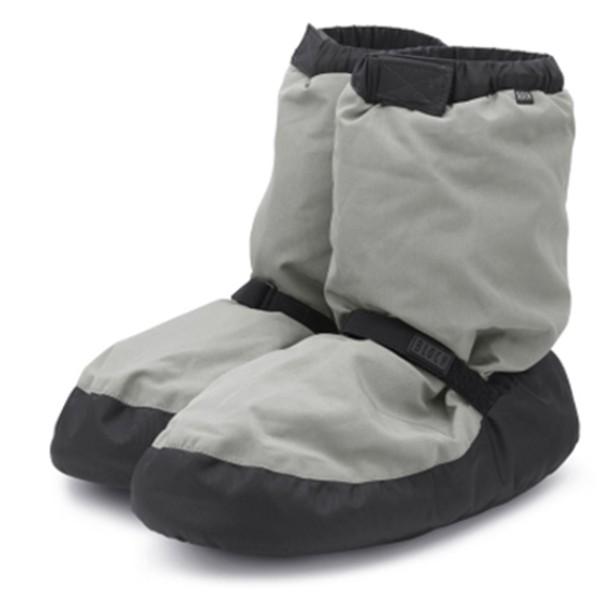 Bloch Warm-Up Booties (Light Grey)