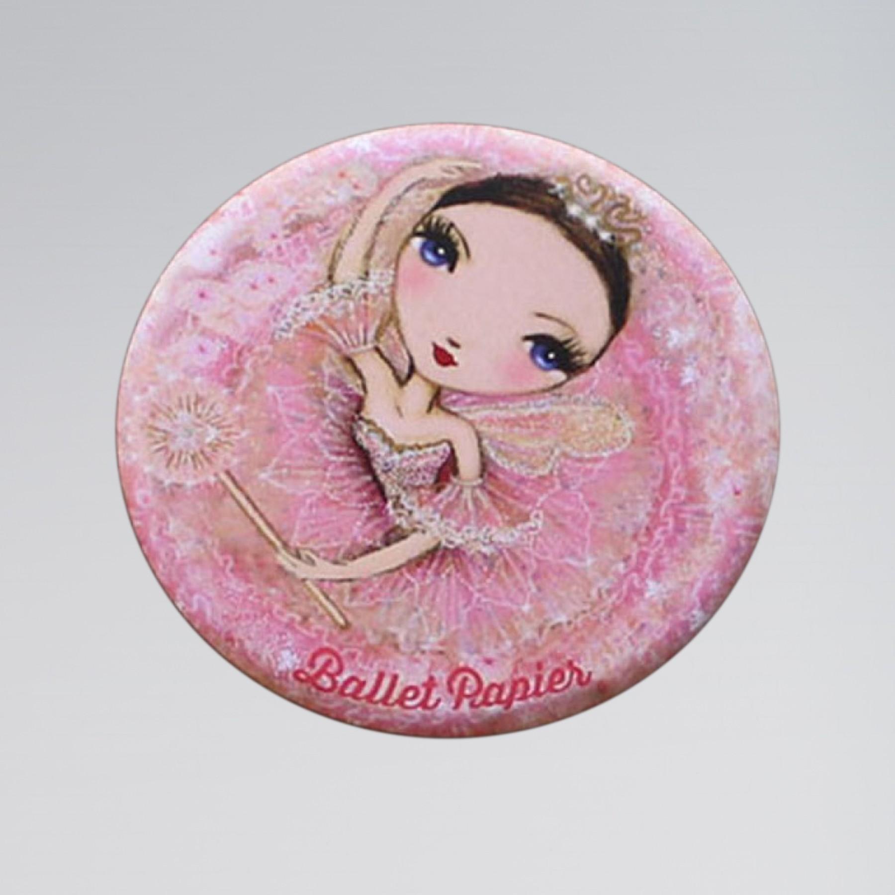 Ballet Papier Pocket Mirror Pink