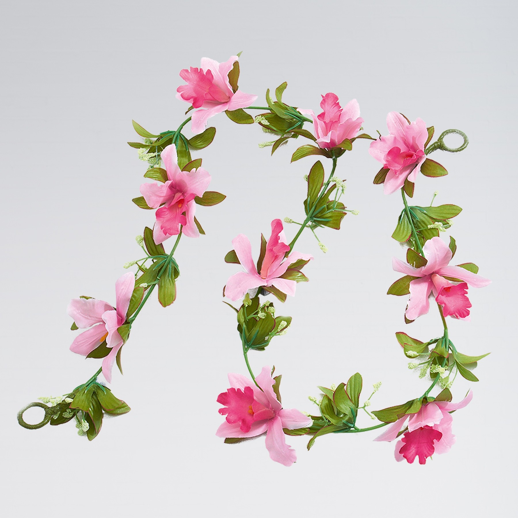 Artificial Flower Garland - Pale Pink (1m approx)