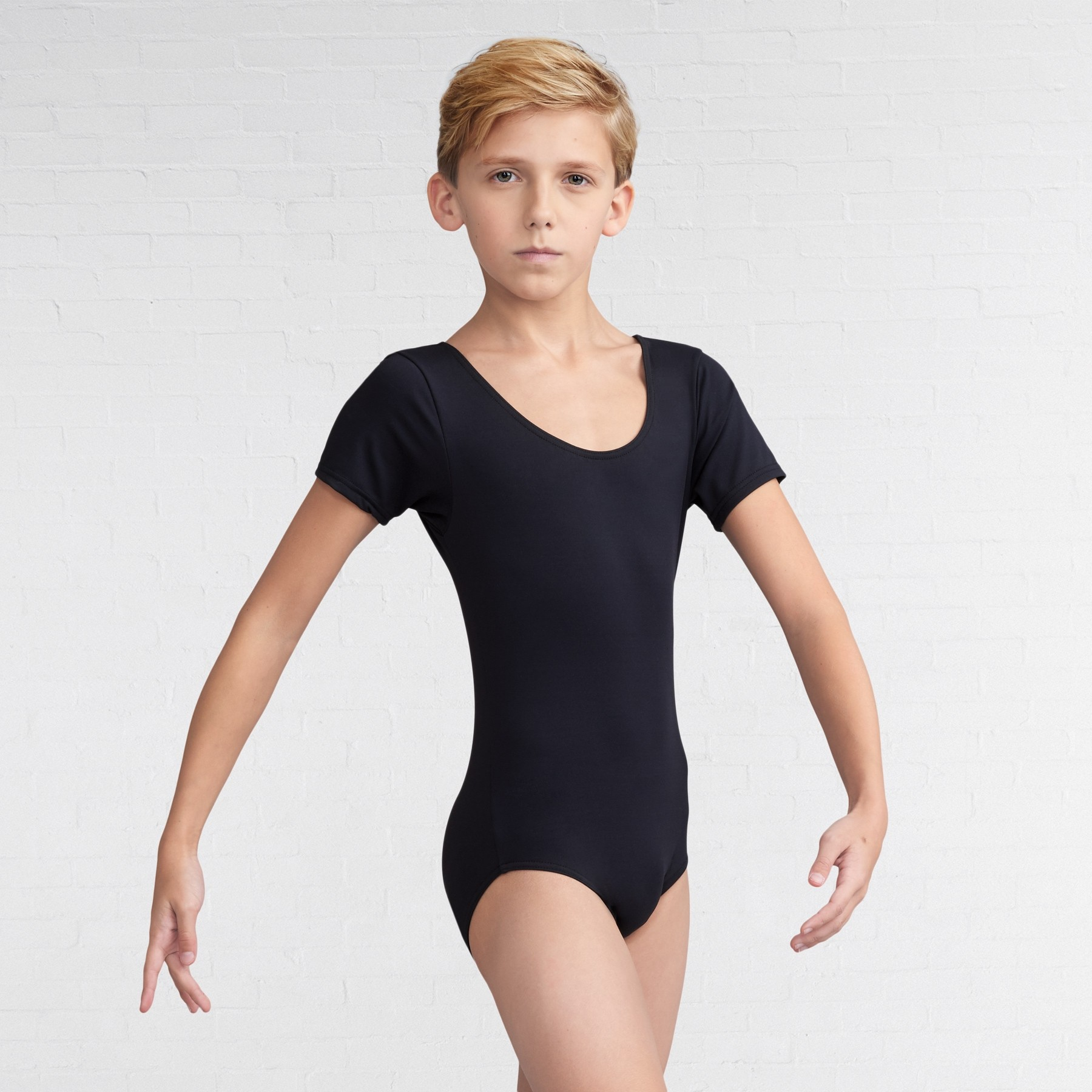 Capezio Tacctel® Short Sleeve Leotard - Boys