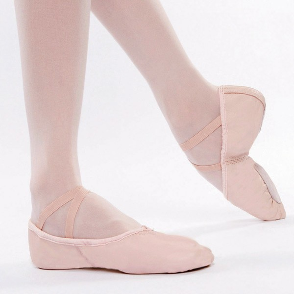 capezio leather cobra split sole ballet shoe jam