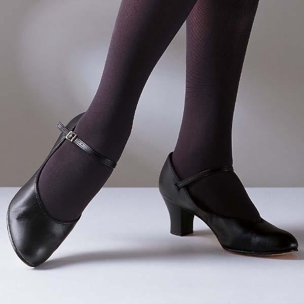Capezio Student Footlight Shoes (Black)