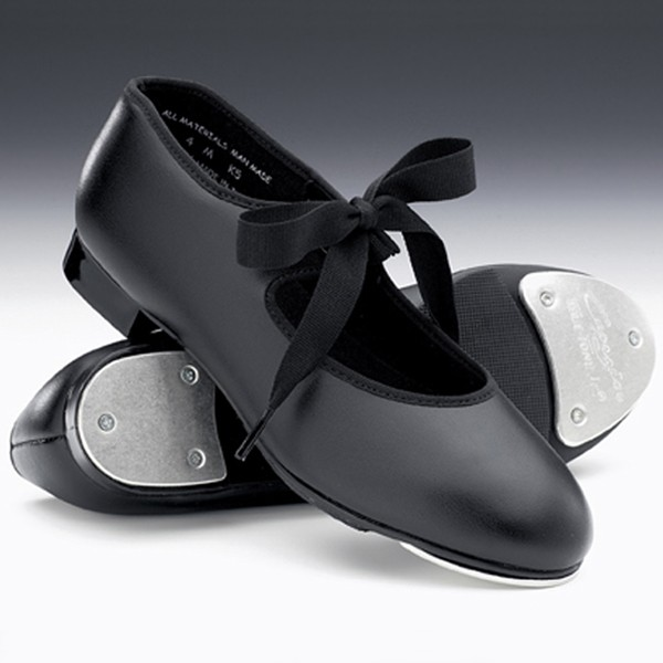Capezio Junior Tyette Tap Shoes (Black)