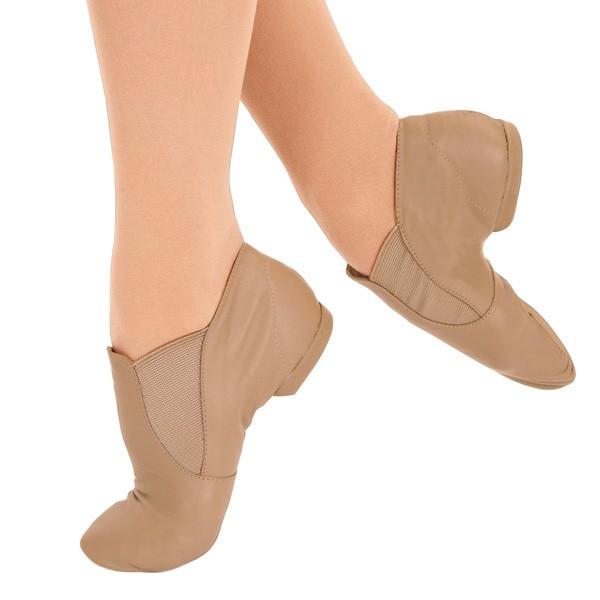 Capezio Jazz Ankle Boots (Caramel)