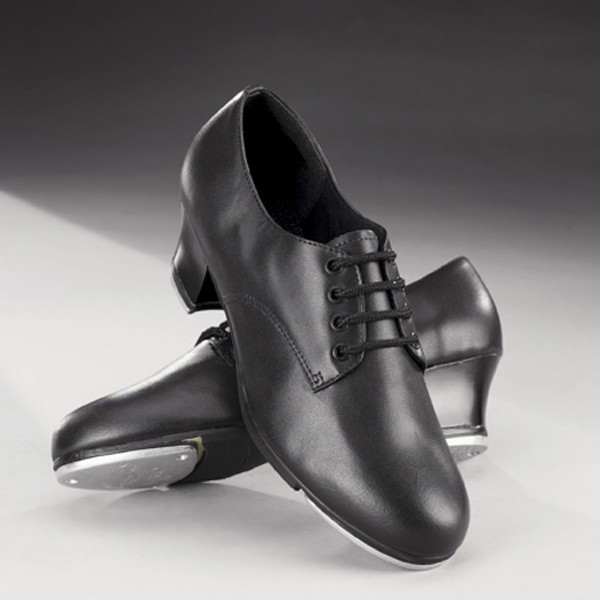 Capezio West End 2 Cuban Heel Oxford Tap Shoes (Black)