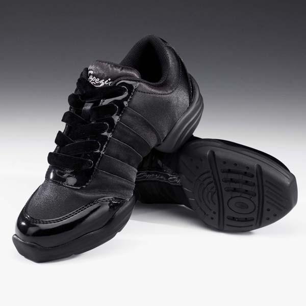 Capezio Daphnis Satin Dance Sneaker