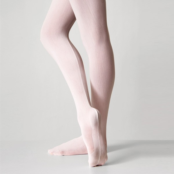 Debut Fully Fashioned Tights (White)