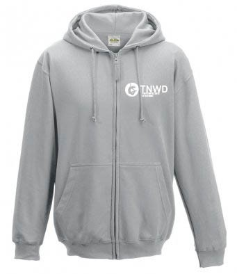Adult Unisex Zipped Hoodie (Heather) with TNWD Performing Arts Logo