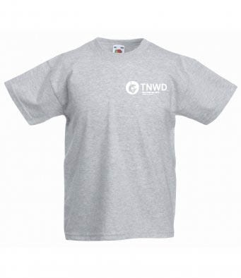 Adult Heather T-shirt with TNWD Performing Arts Logo