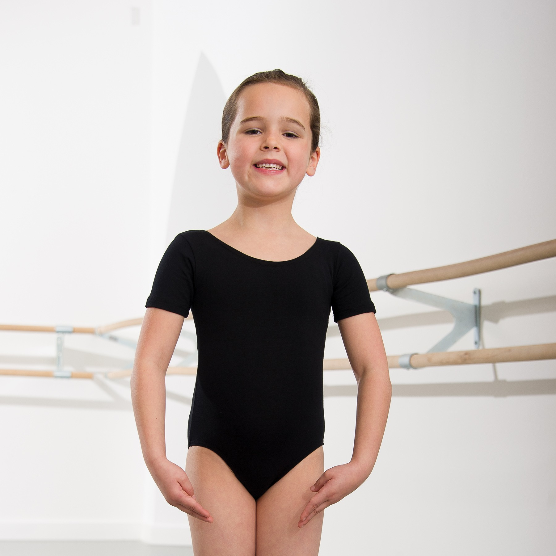 1st Position Kate Pre/ Primary Leotard (Black)