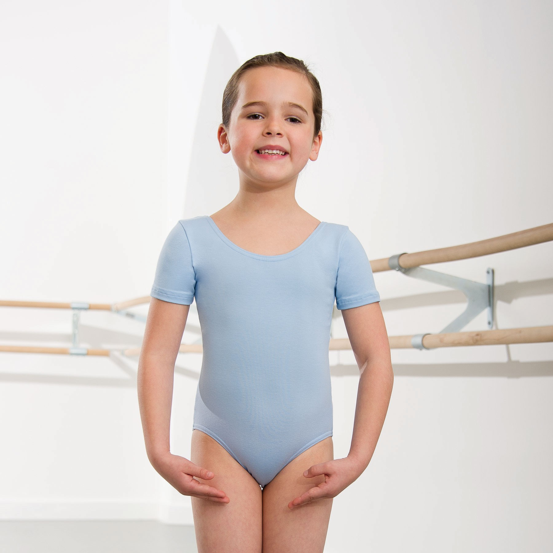 1st Position Kate Pre/ Primary Leotard (Pale Blue)
