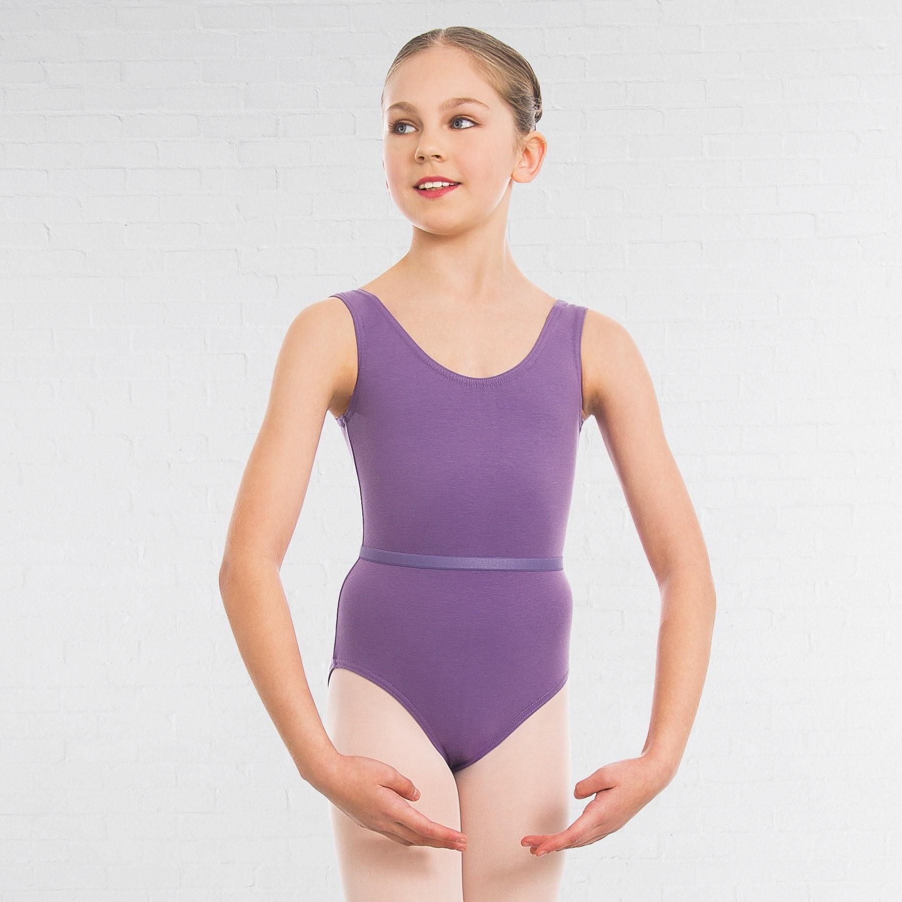 1st Position Laura Grades 1-5 Leotard (Lavender)