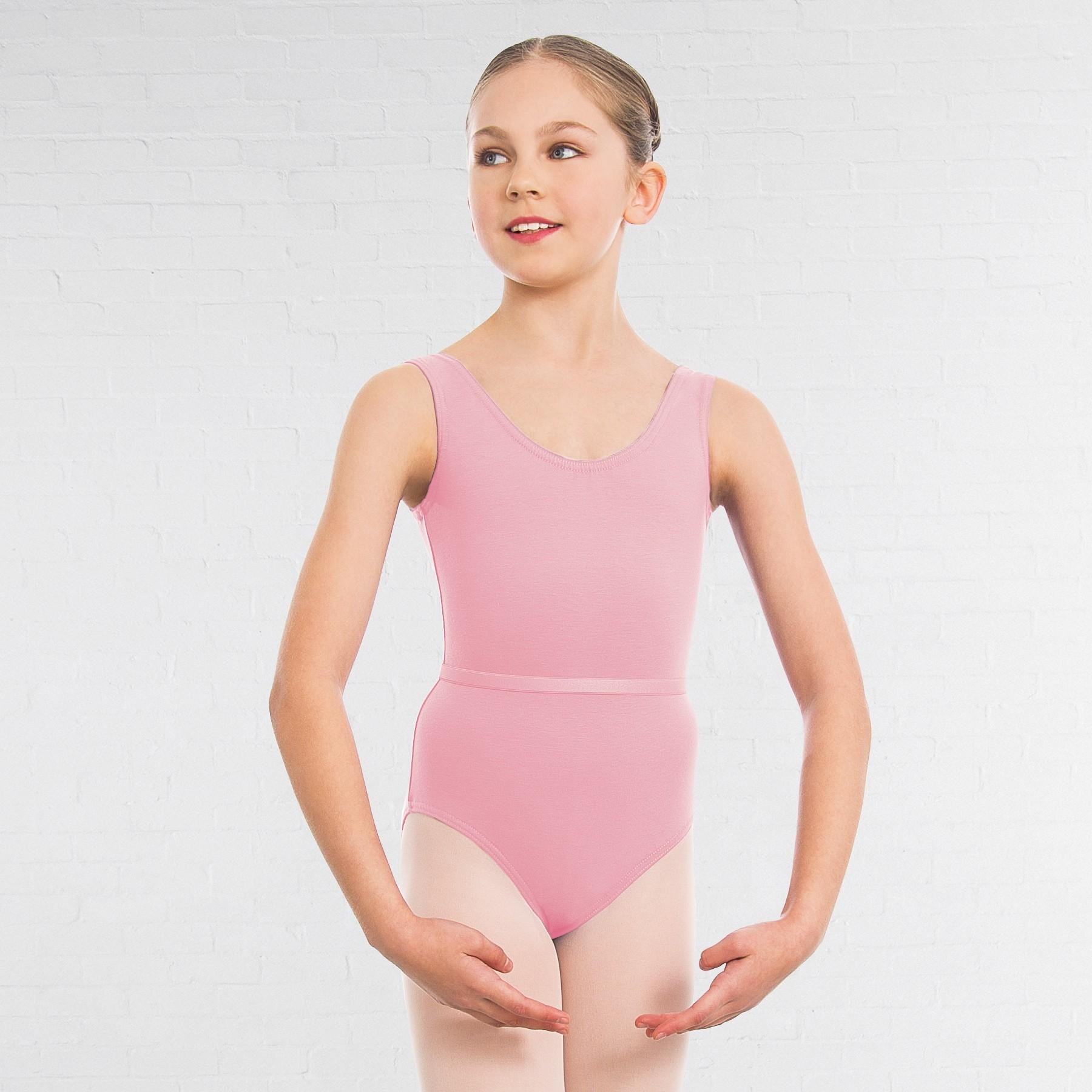 1st Position Laura Grades 1-5 Leotard (Pale Pink)