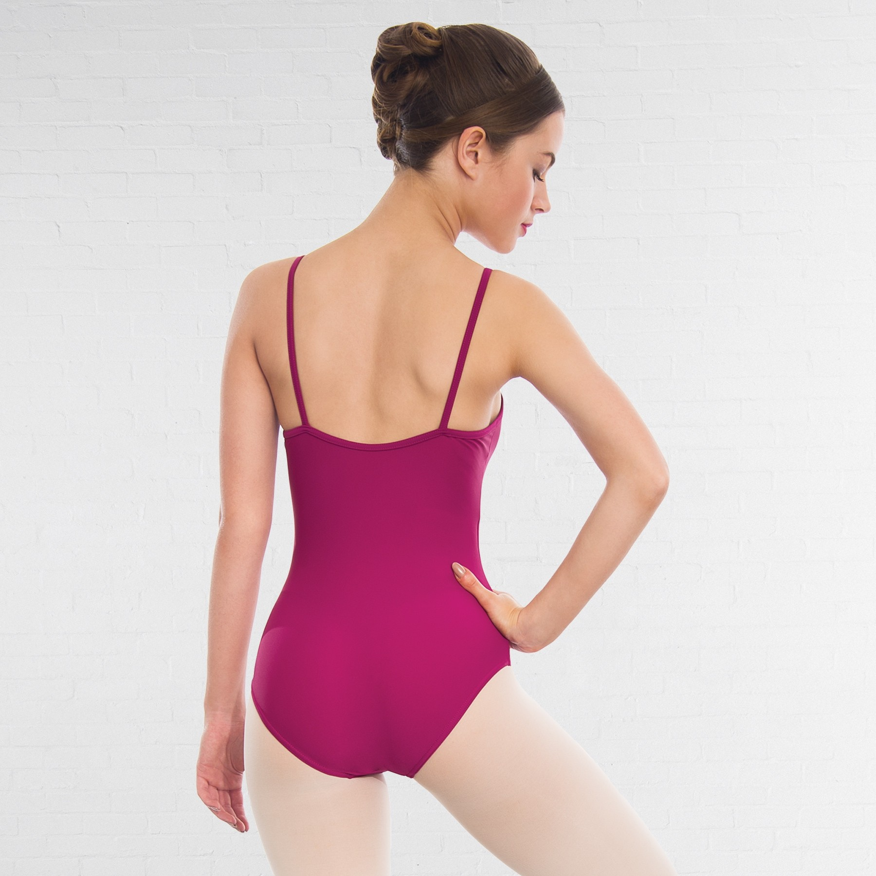 1st Position Camisole Leotard (Rose)